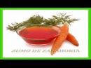 Zumo de Zanahoria para Prevenir el Cáncer de Colon
