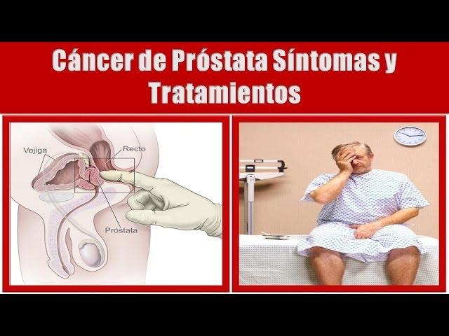 Signos y Síntomas del Cáncer de Próstata: