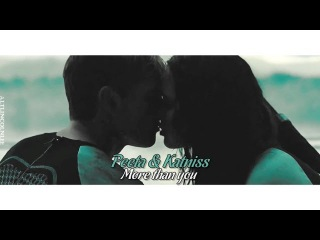 ● Peeta & Katniss ► More than you {4 years on YouTube}