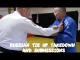 TAKEDOWN: 2 on 1 / Russian Tie Takedown and Submission Options