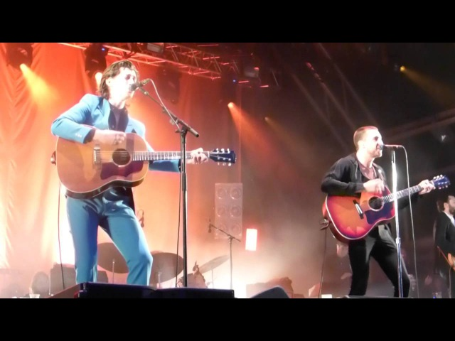 THE LAST SHADOW PUPPETS MANCHESTER CASTLEFIELD BOWL 10/07/16 STANDING NEXT TO YOU