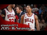 Derrick Rose Full Highlights 2015.12.28 vs Raptors