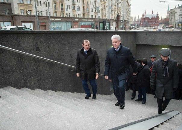 Собянин: В Москве построено и отремонтировано порядка 300 пешеходных переходов, Москва, Сергей Собянин