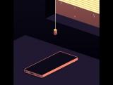 музыка, пиксельный телефон