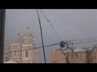 Установка креста на Храм князя Владимира - 17.12.2015г (2)