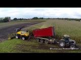Mais hakselen 2014 New Holland FR700 T7.270 Black Power MAN TGS 8x8 Agrar truck Jan Bevers.720p
