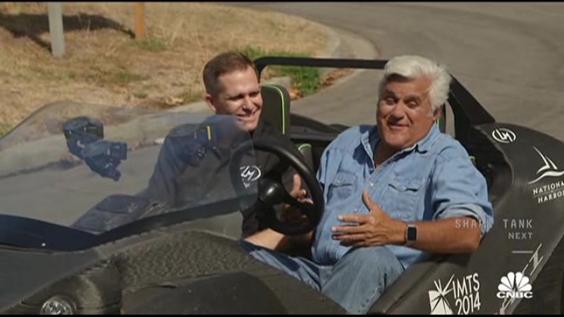 Jay Leno's Garage S01E08 Серия 1 Эпизод 8 The Cars of Tomorrow - Francis Ford Coppola