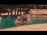 Алисия Рэйчел Марек и Линдси Лохан в бассейне – Мачете