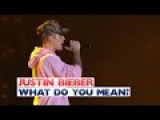 Justin Bieber - 'What Do You Mean' (Jingle Bell Ball 2015)
