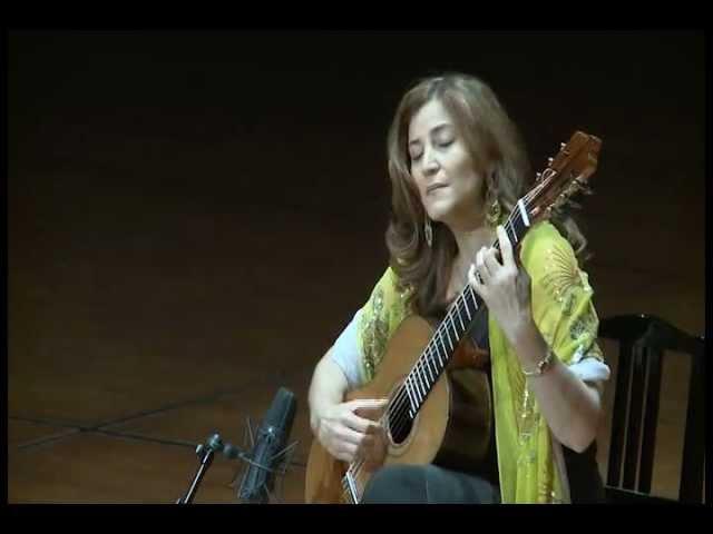 Berta Rojas plays Waltz op. 8 No. 4 and La Catedral by A. Barrios