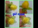 Organze Kurdele oyaları TOMURCUKLU KATLAMALI GÜL Forex flower health flower summer flower