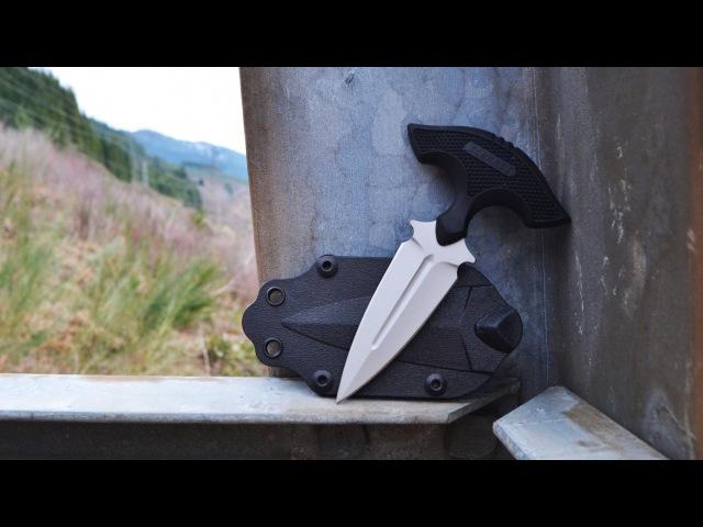 NEW! Schrade SCHF54 Covert Push Dagger - Double Edged, Multi-Position, EDC.