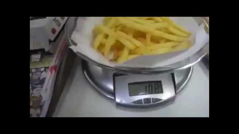 McDonalds Batata Média x Batata Grande = Gato Por Lebre
