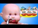 Куклы Пупсики Киндер сюрпризы Развивающее видео для детей Мультфильмы мультики Игрушки для девочек