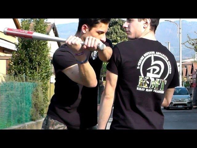 KRAV MAGA TRAINING How to block the Baseball Bat