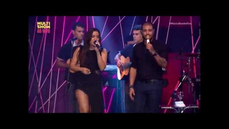 Anitta e Diogo Nogueira cantam Ex-Amor no Música Boa ao Vivo