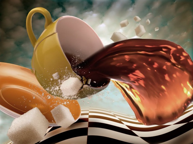 Пища богов - кофе, морковный чай, калмыцкий чай, айран, квас (03 09 2013)