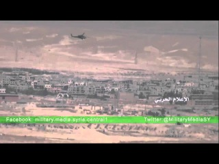 Ми-28Н «Ночной охотник» работает в Сирии