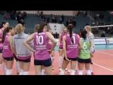 Волейболистки Вк Заречье Одинцово после победного матча  17 тура против Вк Уралочка