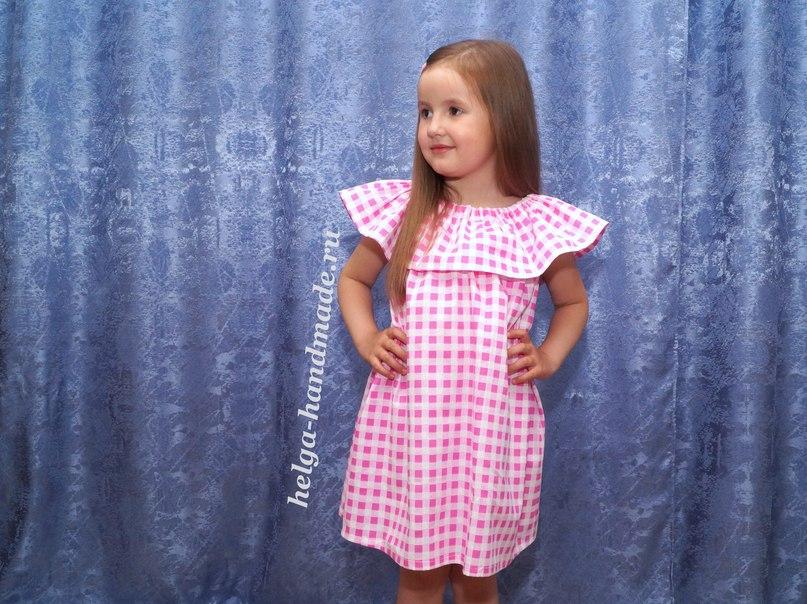 Детская одежда. Шьем летнее платье/сарафан для девочек своими руками, мастер-класс / Surfingbird знает всё, что ты любишь
