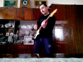 гитара Вадима Глухова группа Сектор газа