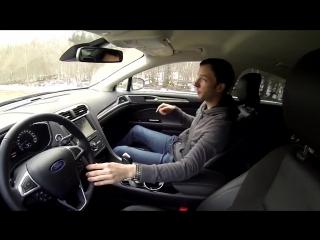 Это новый Ford Mondeo, и он умеет, тормозить вместо Вас