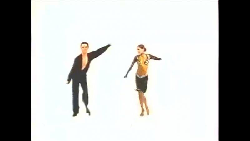 Staroetv.su _ Рекламные заставки (ОРТ, 03.04.2001-20.05.2001) Танцы