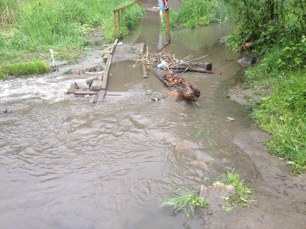 На Салтовке потоп (ФОТО, ВИДЕО)