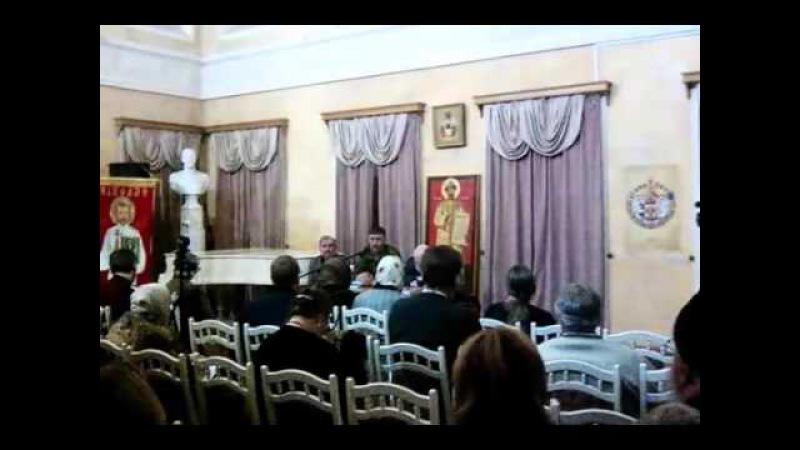 Игорь Иванов о своей книге Русское подполье и истории ВСХСОН