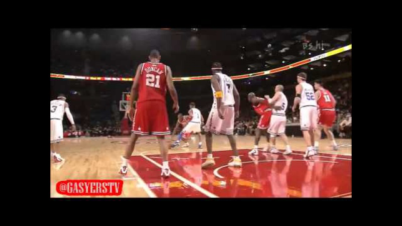 Throwback NBA All-Star Game 2003 Michael Jordan vs Kobe Bryant Highlights HD