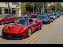 11x Pagani Huayra The Pagani Roadtrip 2015 La Monza Lisa, 730S, The King and more.