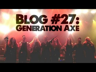 JP Bouvet Blog 27 - Generation Axe w/Vai, Wylde, Malmsteen, Bettencourt, Abasi