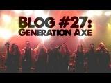 JP Bouvet Blog #27 - Generation Axe wVai, Wylde, Malmsteen, Bettencourt, &amp Abasi