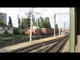 Вечерний Краснодарский край из окна поезда