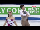 2016 European Championships Ice Dance SD Lorenza ALESSANDRINI Pierre SOUQUET