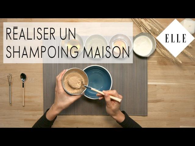DIY : Comment faire son shampoing maison I ELLE Beauté