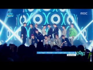 160416 SEVENTEEN - girl group medley @ Music core
