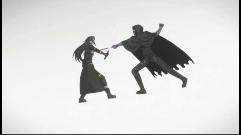 Kirito vs Death gun прикол