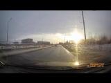 Борзо таксист перестроился. Северодвинск