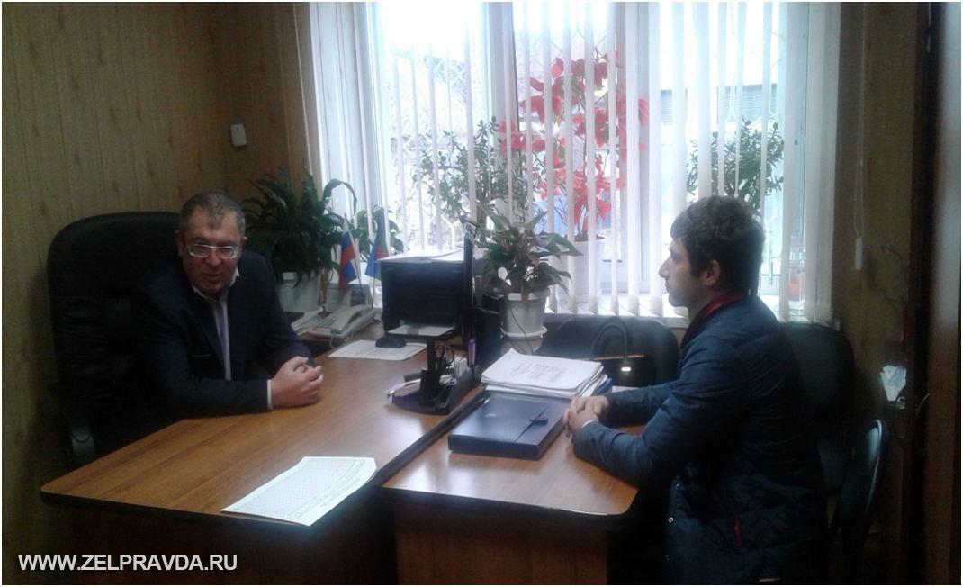 В станице Зеленчукской Тамов Иналь Рауфович провел прием граждан