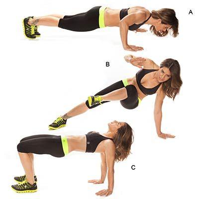 Упражнения для похудения рук и плеч без гантелей в домашних условиях