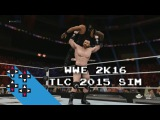 Roman Reigns vs. Sheamus (WWE WHC TLC Match) — WWE 2K16 TLC 2015 Match Sim
