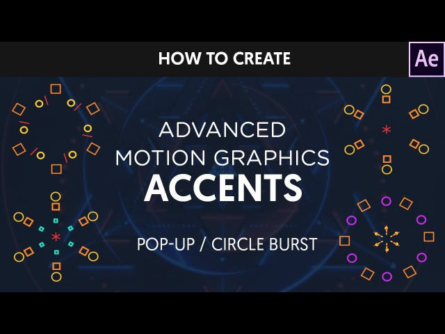After Effects Tutorial Animated Circle Burst PopUps