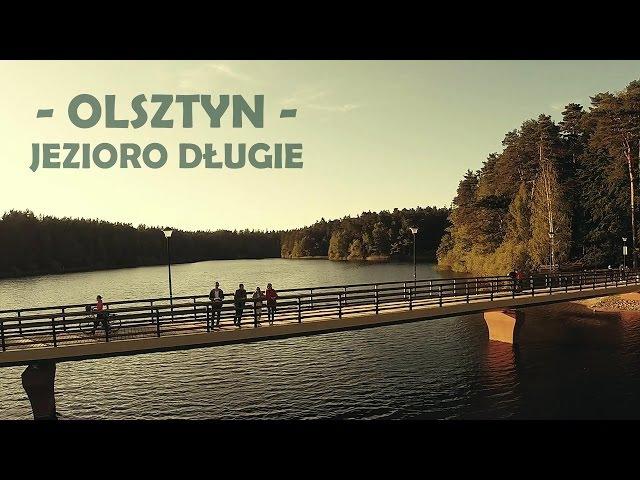 Jezioro Długie Olsztyn - lot DRONEM GoPro Hero DJI Phantom 2 Zenmuse H3-3D