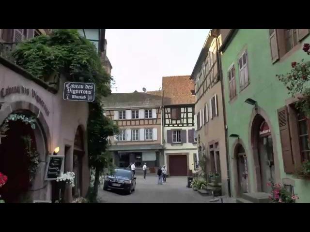 Риквир Эльзас Франция Riquewihr Alsace France
