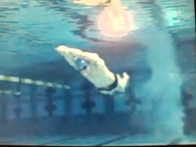 Michael Phelps Swim Technique Slow Motion Underwater Camera