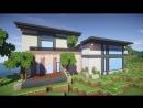 Красивый дом в майнкрафт 2 - Timelapse - Серия 6.1 - Строительный креатив 2
