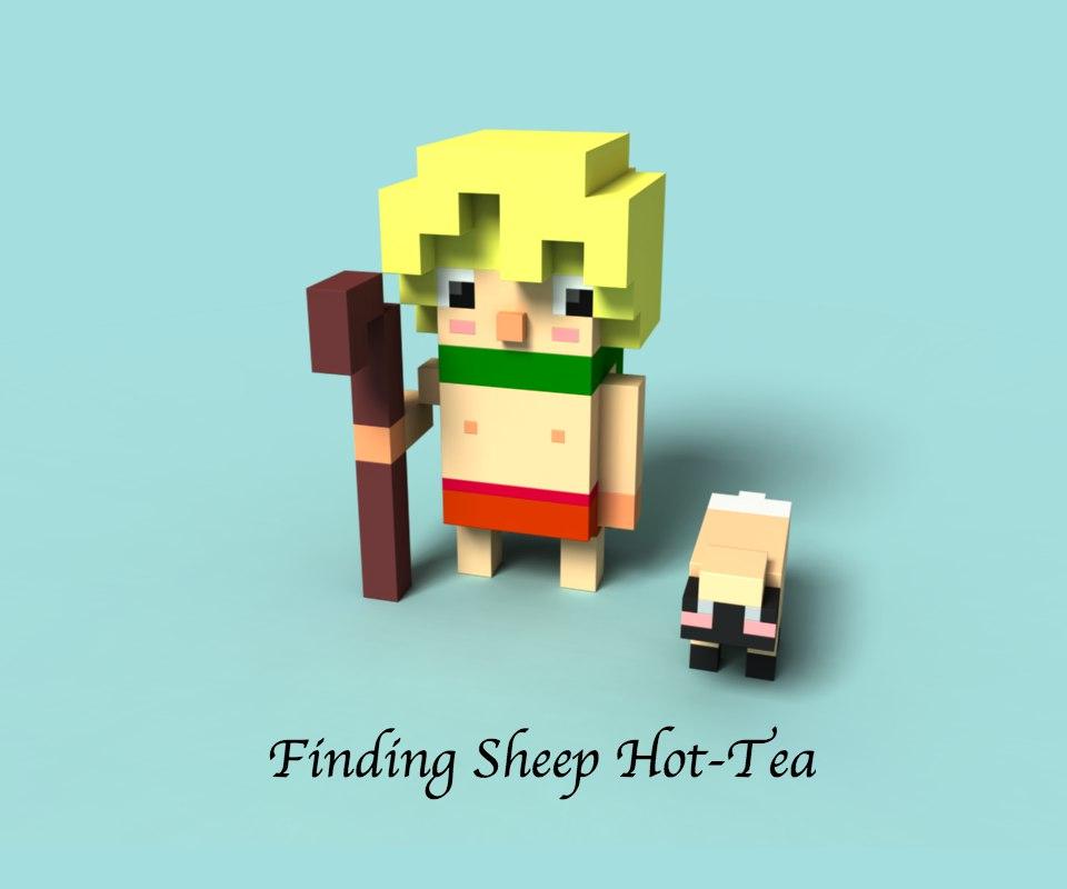 Finding Sheep Hot-Tea