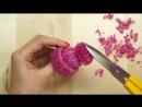 Как быстро сделать маленькие шапочки для украшения интерьера