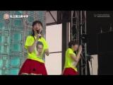 Shiritsu Ebisu Chuugaku. Odaiba Minna no Yume-Tairiku Mezamashi Live 09/08/2016 (FujiTV Next 24/08/2016)